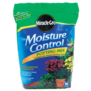 Scotts Miracle Grow 16 qt. Moisture Control Mix