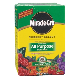 Scotts Miracle Grow Lb Nursery Select Plant Food