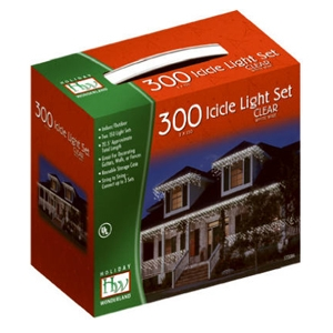Holiday Wonderland 2pk 150 count Icicle Light Set