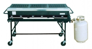 3-foot Propane Grill