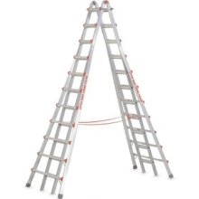 Little Giant  9' to 17' Adjustable Step Ladder