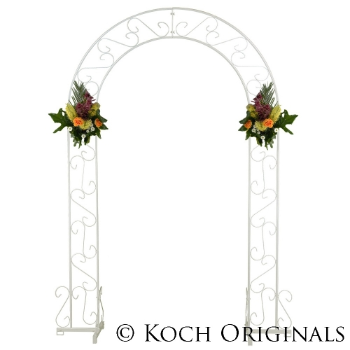 Koch Wedding Arch - 92'' - White