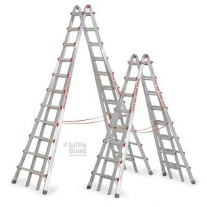 21' Step Ladder Aluminum