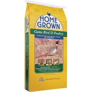 Home Grown Game Bird & Poultry Feed
