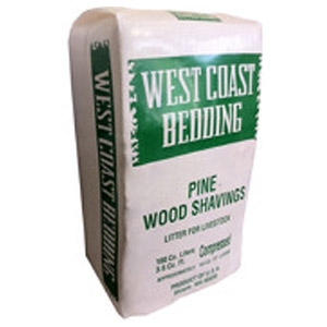 West Coast Bedding Pine Wood Shavings Bale