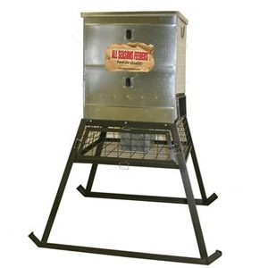 All Seasons Feeders 600 lb. Stand & Fill Feeder