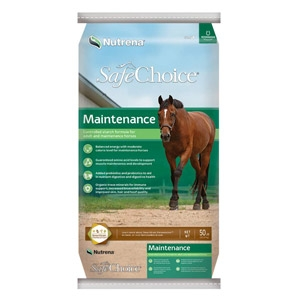 Nutrena Safechoice® Maintenance Horse Feed