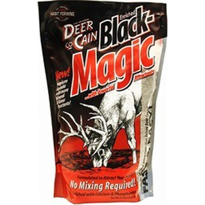 Evolved Habitats® Deer co-Cain Black Magic Mineral Block