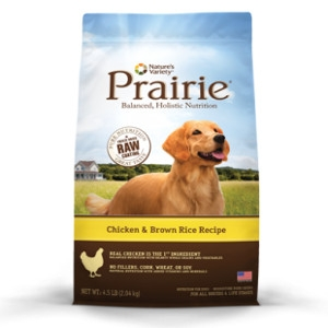Prairie Chicken & Brown Rice Dog Food