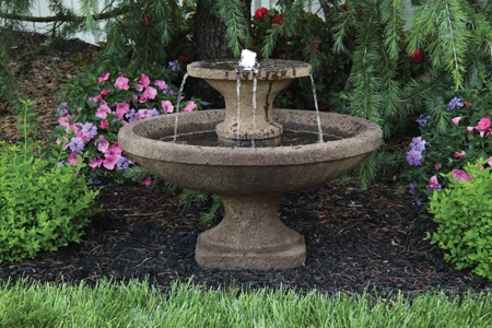 Two Tier Bella Cement Fountain