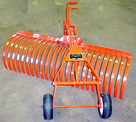 4' Towable Rake