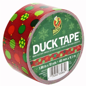 Duck Tape® Duck® the Halls Holiday Prints Tape