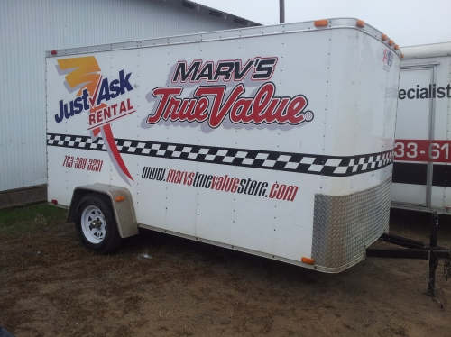 Team Spirit 6' x 12' Enclosed Trailer