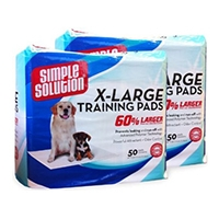 "Simple Solution® Extra Large Training Pads - 50 Pad Pack (28"" x 30"")"
