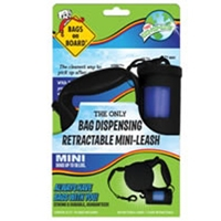 Bramton Company Mini Retractable Leash - Black (45 bags)