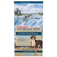 Eukanuba Large Breed Dog Naturally Wild Salmon and Rice, 30 Lb