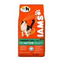 Iams Cat Hairball Care, 4/6.8 Lb