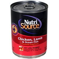TUFFY'S NutriSource Dog Chicken, Lamb, and Fish Canned Food