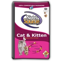 TUFFY'S NutriSource Cat/Kitten Chicken/Rice 16#