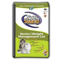 TUFFY'S NutriSource Senior Weight Management Cat 1.5