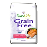 Pure Vita Pet Food Salmon, Sweet Potato, & Berries GF, 25#