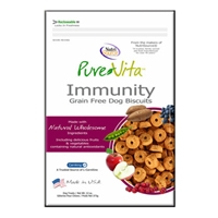 Tuffy's Pet Food Pure Vita Grain Free Immunity Biscuit
