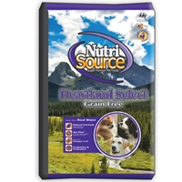 Nutrisource Grain Free Heartland Select Dog Food, Made With Bison