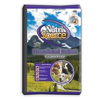 Nutrisource Grain Free Heartland Select Dog Food, Made With Bison, 8/5#