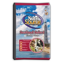 Nutrisource Grain Free Seafood Select Dog Food Made With Salmon
