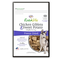 Pure Vita Chicken and Sweet Potato Freeze Dried Dog Treats