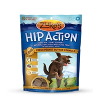 Zuke's Performance Hip Action Peanut Butter Flavor 6 oz. Pouch