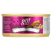 Petcurean Go! Natural Cat Can Chicken/Vegetable, 24/5.5 Oz
