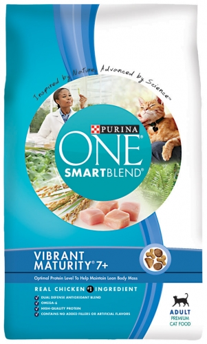Purina One Senior Protection Cat