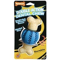 Nylabone Double Action Dental Chew Spiky Ball