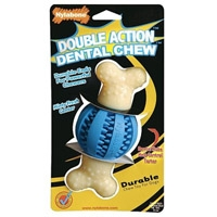 Nylabone Double Action Dental Chew Round Ball