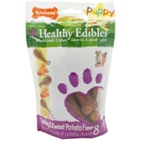 Nylabone Healthy Edibles Puppy Turkey & Sweet Potato 8ct Pouch