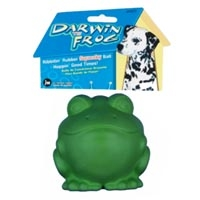JW Pet Company Darwin The Frog Small Dog Toy