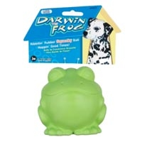 JW Pet Company Darwin The Frog Large Dog Toy