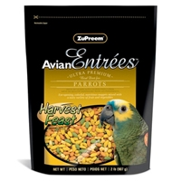 Avian Entrees Harvest Feast, Parrots