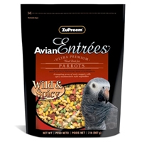 Zupreem Avian Entrees Wild & Spicy Parrot 2 lb. Pouch