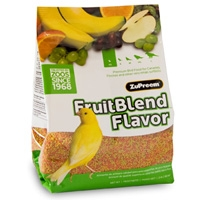 Zupreem Fruit Blend Premium Bird Food 2 lb. Bag