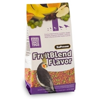Zupreem Fruit Blend Flavor Premium Bird Food Medium Cockatiel