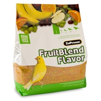 Zupreem Fruit Blend Premium Bird Food Extra Small Canary/Finch 10 lb. Bag