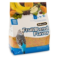 Zupreem Fruit Blend Flavor Premium Bird Food Small Parakeet