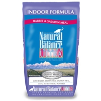 Natural Balance Indoor Ultra Rabbit & Salmon Meal Dry Cat 5 lb.