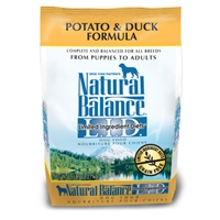 Natural Balance Limited Ingredient Diet Duck & Potato Formula Dry Dog Food 6/5 lb.