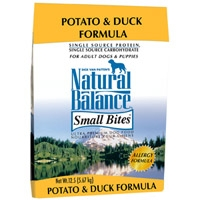 Natural Balance Limited Ingredient Diet Duck & Potato Small Bite Dry Dog Food 12 lb.