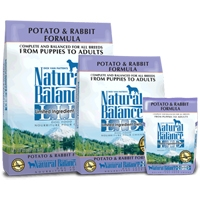 Natural Balance Limited Ingredient Diet Rabbit/Potato Dry Dog 4.5 lb.