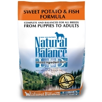 Natural Balance Limited Ingredient Diet Fish & Sweet Potato Dry Dog Food