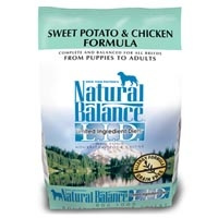 Natural Balance Limited Ingredient Diet Chicken & Sweet Potato Dry Dog Food 4.5 lb.